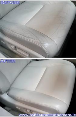 colour faded seat restoration