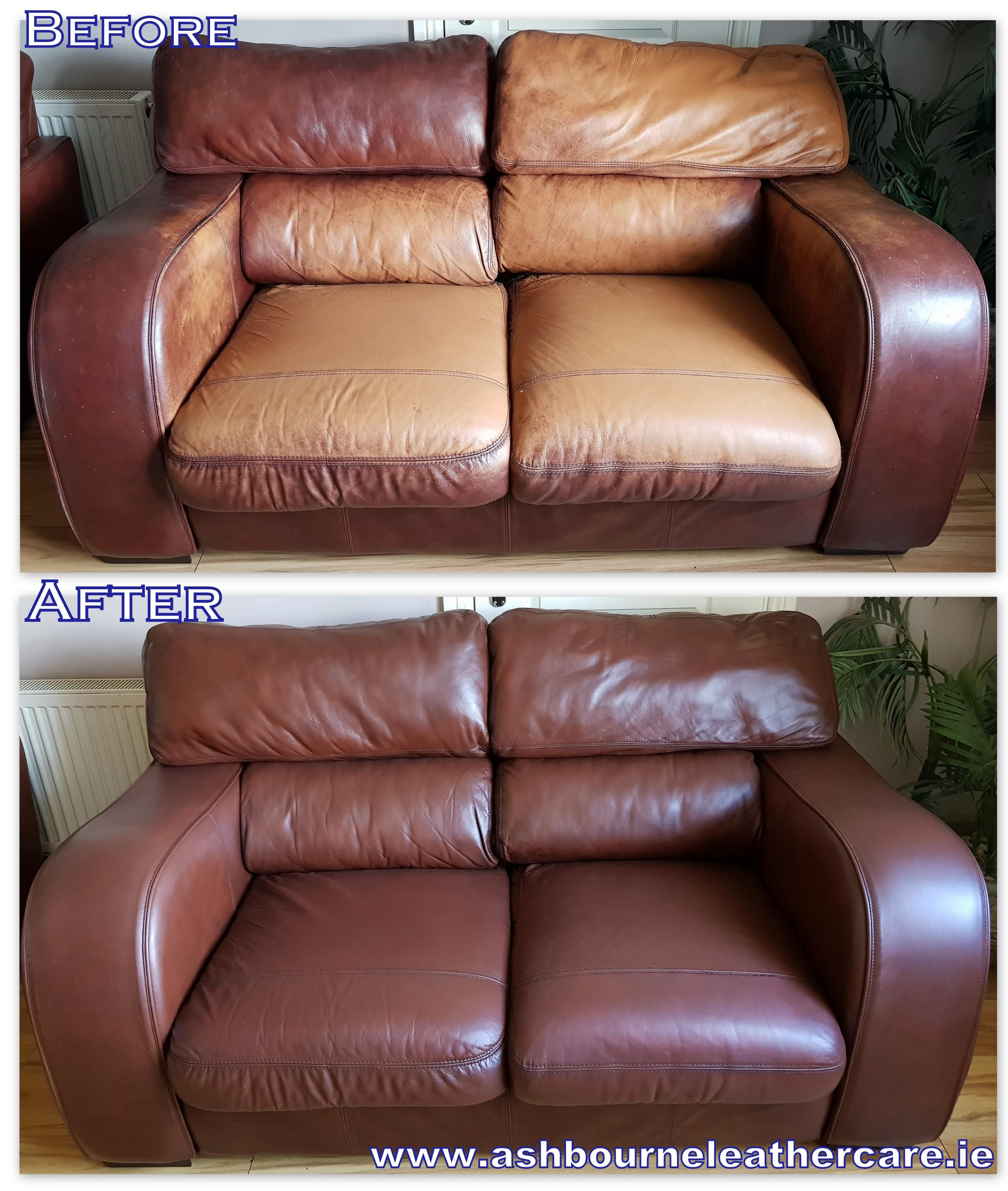 Leather Colour Restoration