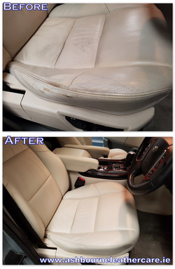 car leather seat restoration