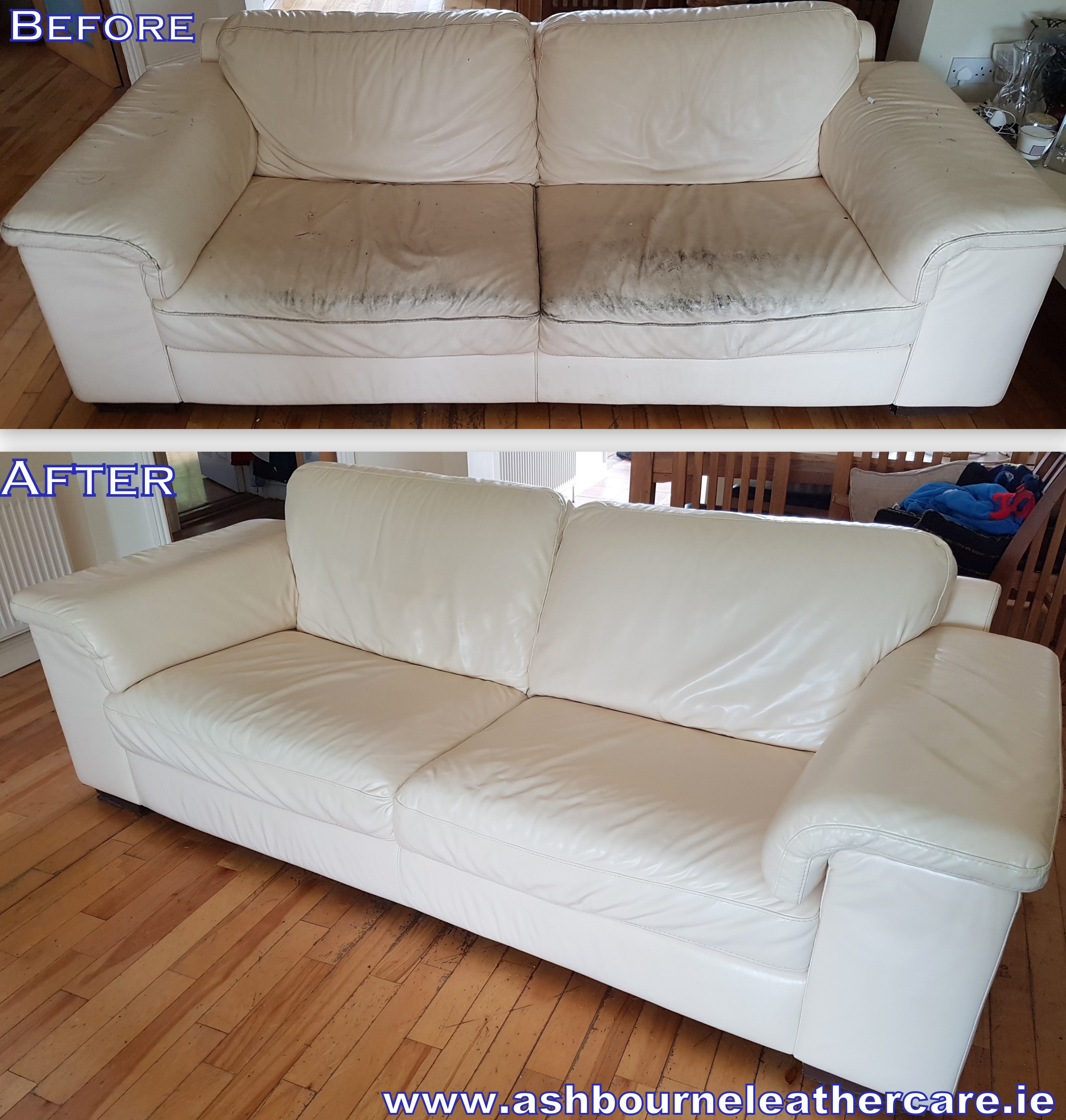 leather couch restoration