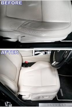 leather car seat restoration