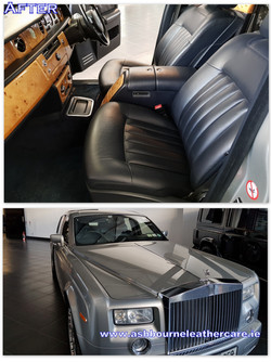 Car leather repair and restoration.
