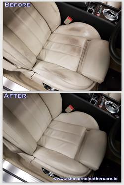 leather car seat repair.
