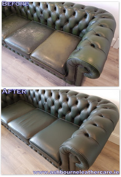 leather restoration and repair.