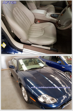 Leather seat repair and colour