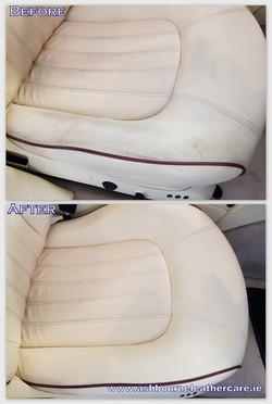 leather car seats restoration.