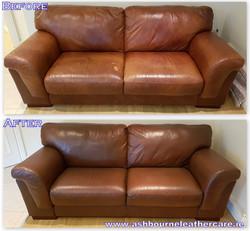 leather furniture restoration