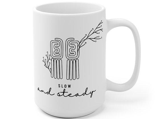 Slow and Steady Ceramic Mug