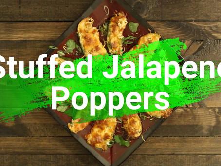 Stuffed Jalapeno Poppers