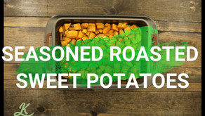 Roasted Seasoned Sweet Potatoes
