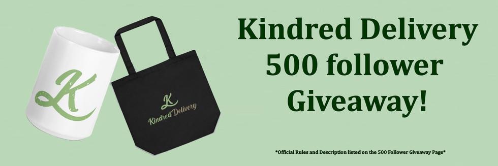 500 Follower Give away