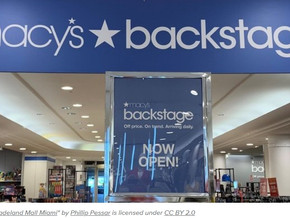 Macy's Backstage opening 45 shop-in-shops