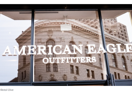 As customers return to stores, American Eagle's Q2 online sales fall