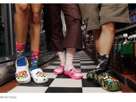 The Weekly Closeout: Crocs enters sock market and Target's latest collab