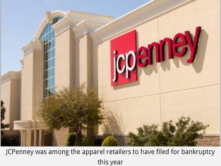 US apparel retailer bankruptcies among top in 2020