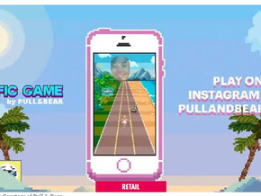 Inditex launches AR game for Pull & Bear girls collection