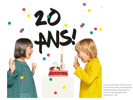 French childrenswear label Bonton expands range, targets China, USA