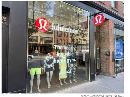 Adidas, Nike, Under Armour Heavyweights Behind Lululemon's Footwear Patent