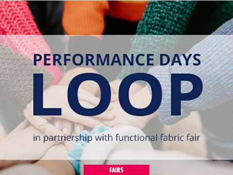 Launch of digital platform PERFORMANCE DAYS Loop in cooperation with Functional Fabric Fair