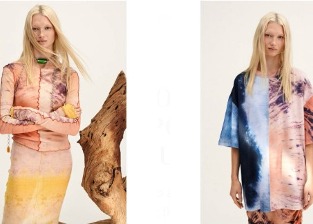 H&M color collection focuses on sustainable dyeing techniques