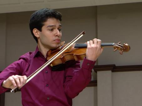 Venezuelan violinist Rubén Rengel wins $50,000 Sphinx Competition