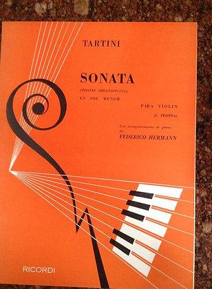 TARTINI Sonata para Violin