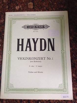HAYDN Concert 1 Violin and Piano