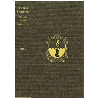 BOOK Antonio Stradivari - Su vida y su obra 1644 - 1737 LIBRO, en Español
