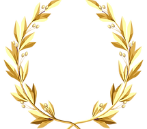Transparent_Gold_Wreath_PNG_Clipart_Pict