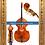 Thumbnail: Double Bass Viol Body - William Tarr Model   Contrabajo