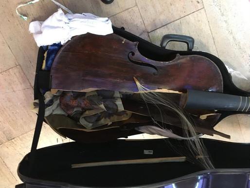 Destroyed viola da gamba UPDATE: further info from owner, plus Alitalia responds