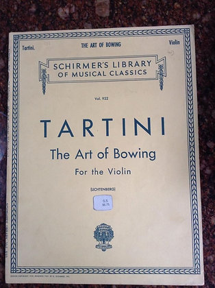 TARTINi The Art of Bowing for Violin
