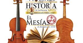 Violines con Historia: El Mesías   Lsalazar Luthier
