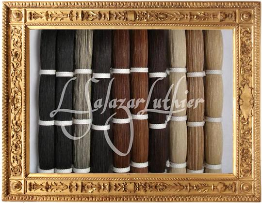 Horse Hair for REHAIR / horsehair Bowhair bow hair Crines Cerdas