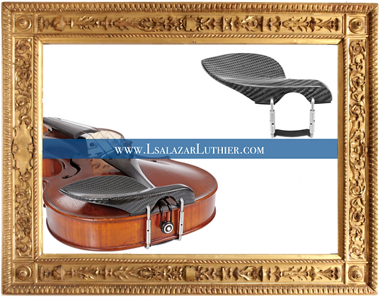 Chinrest Guarneri, Carbon Fiber, Violin Viola | Mentonera Fibra Carbono