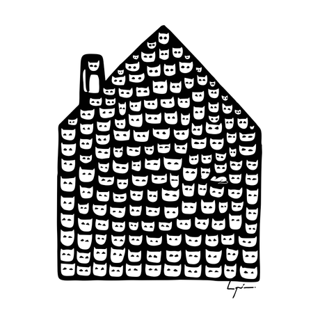 En mi casa hay mil gatos y un ratón