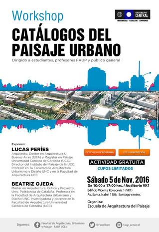 workshop Catálogos del paisaje urbano