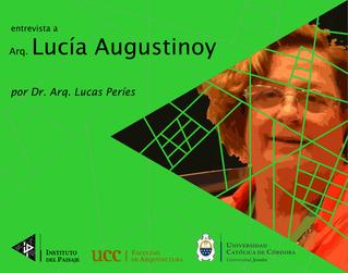 entrevista a Arq. Lucía Augustinoy
