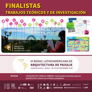 III Bienal Latinoamericana de Arquitectura de Paisaje
