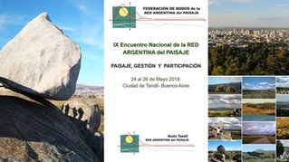 IX encuentro nacional de la Red Argentina del Paisaje