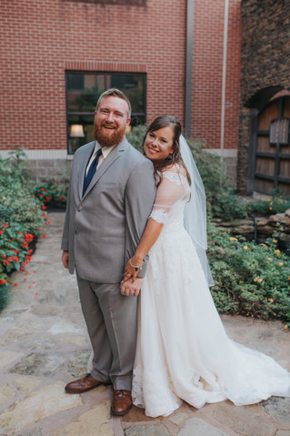 Taylor & Jordan | A Royal-Inspired Memphis Wedding | Loflin Yard