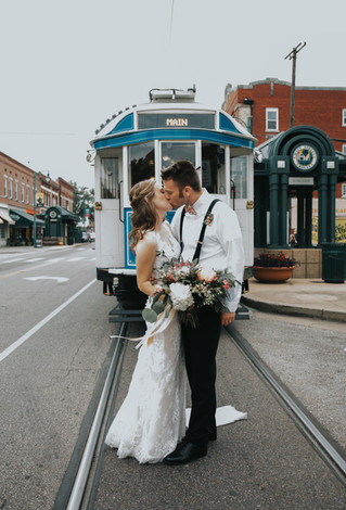 Katie + Kevin | A Summer Downtown Memphis Wedding | Memphis Wedding Photographer