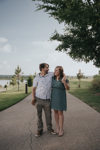 Kara + Sean | A Summer Engagement Session | Memphis Wedding Photographer