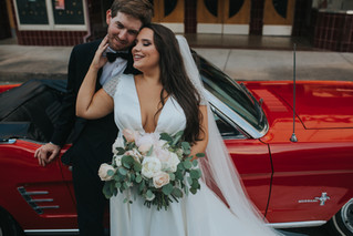Darby & Jordan | A Southern, Old Hollywood Vibe Wedding | Memphis Wedding Photographer