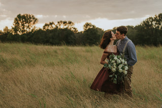 Leah Beth & Jacob | LLFTN Covington Meetup | A Dreamy Sunset Couple Session | Memphis Wedding Ph
