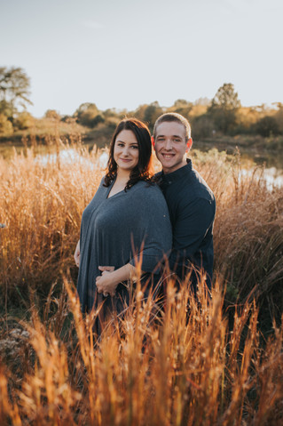 Joey & Amber | A Sunset Engagement in the Park | Memphis, TN | Shelby Renee Photo
