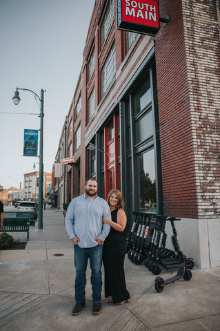Natalie + Austin | A South Main Memphis Engagement Session | Memphis Wedding Photographer