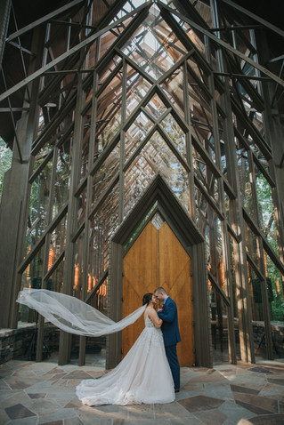 Madison + Blake | A Glass Chapel in the Woods Wedding | Memphis Wedding Photographer