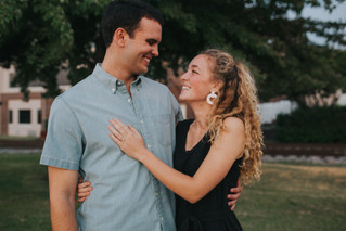 Jake & Shelby | A Proposal by the River | Downtown Memphis | Memphis Wedding Photographer