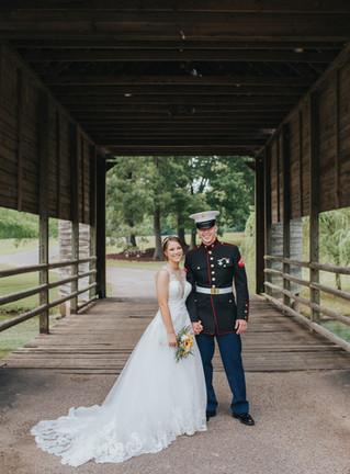 Carlye & Austin | A Summer Wedding | The Bridge at Chrisleigh Farm | Memphis Wedding Photographe